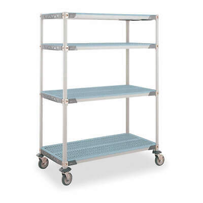 GRAINGER APPROVED Utility Cart,24 In. W,60 In. L,Plastic, 3TJ72