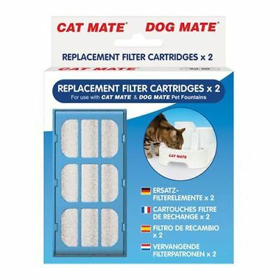 Cat Pet Mate Drinking Fountain Filter Cartridges - Kittens Small Dogs Puppies