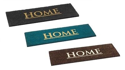 Home Tufted Coir Entrance Floor Anti Slip Front Door Mat Doormat Rectangular New