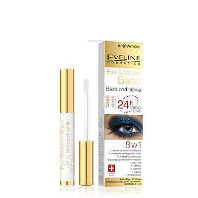 Eveline 8in1 Eye Shadow Base 24h Magic Stay Long Lasting Eye Primer Innovation
