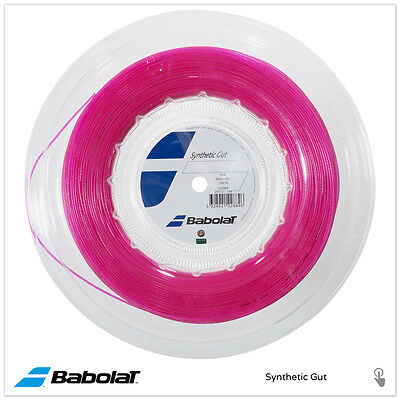 BABOLAT Synthetic Gut 200M REEL 16/1.30 - PINK
