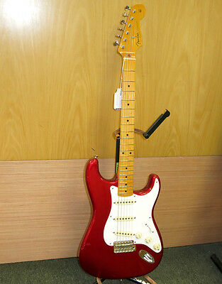 Fender 50s Classic Stratocaster w/ Tweed Hard Case - Red