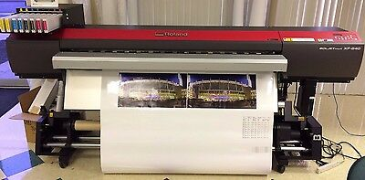 """Roland SolJet Pro 4 XF-640 64"""" Wide Format Printer VERY Low Hours"""