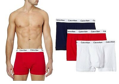 Calvin Klein Men's Boxers CK Trunks Pants Briefs Shorts Underwear Multipack 3