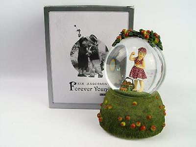 Musical Snow globe, Kim Andersons Forever Young Thank Heaven For Little Girls