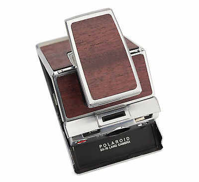 Polaroid SX-70 Land Camera - Purple Heart Wood Replacement Cover