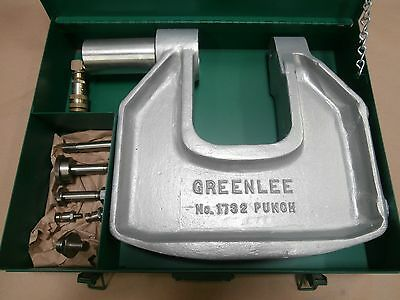 Greenlee 1732 Hydraulic Punch Driver Assembly, Hydraulic Knockout *new*