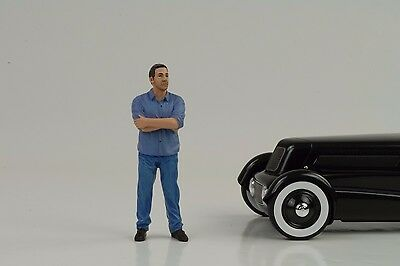 Cool Paolo Figur Figure Street Racing Crew 1:18 American Diorama II no car