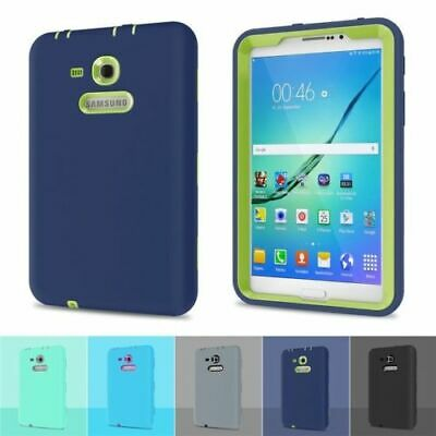 """Shockproof Heavy Duty Hard Case Cover for Samsung Galaxy Tab 3/E Lite 7"""" T113/10"""