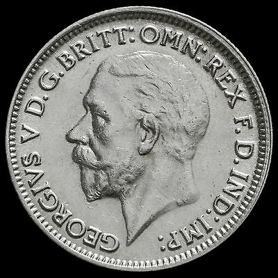 1931 George V Silver Sixpence – EF