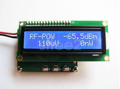 RF Power Meter Range 0.1-2.4GHz Radio Frequency Power Meter 1nW~1W -65~+0 dBm