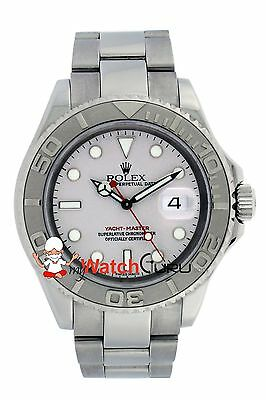 Rolex Yacht - Master 16622 40mm Silver Dial with Bidirectional Rotatable Bezel