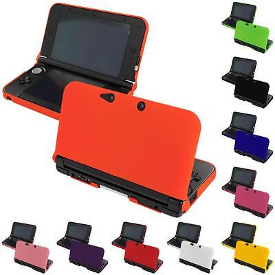 Color Hard Snap-On Rubberized Skin Cover Case Accessory for Nintendo 3DS XL