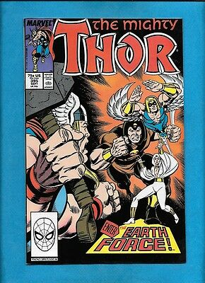Thor #395 Feat. Earth Force Marvel Comics September 1988