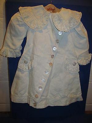 Antique Victorian Child's Children's Coat with Exquisite Ornate Lace!