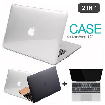 Hard Rubberized Case Shell Keyboard Cover For MacBook Retina 12inch 2015 Display