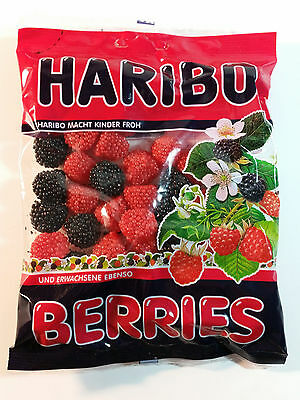 HARIBO BERRIES - CANDY WINE GUMS 7oz - 200g - MADE IN GERMANY -