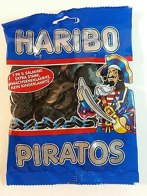 HARIBO PIRATOS - CANDY WINE GUMS 7oz - 200g - MADE IN GERMANY -