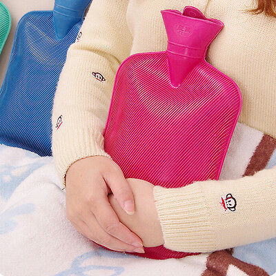 New Thick Rubber Hot Water Bag Bottle Health Care Winter Warm Hot Cold Therapies
