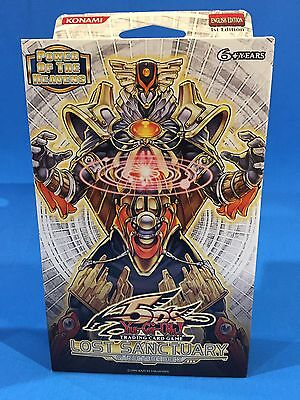 LOST SANCTUARY - Structure Deck - 1st Edition - (SDLS) - Sealed & New - Yu-Gi-Oh