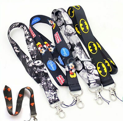 Lanyard Safety Neck Strap Keychain Key Holder Gift For Clip Phone Camera ID Card