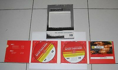 2 Disc Rom Native Instruments BATTERY STUDIO DRUMS Pc Mac Soundline