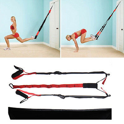 NEW Training Fitness Equipment Exerciser Bands Hanging Belt Tension Resistance