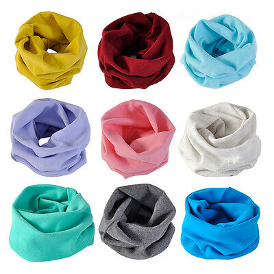 Fashion Winter Warm Children Girls Boys Collar Baby Scarf O Ring Neck Scarves