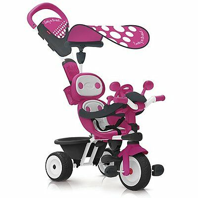 GUT: Smoby 740600 - Baby Driver Komfort Rosa