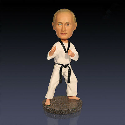 Creative Russian President Putin Taekwondo Bobblehead Doll Collection