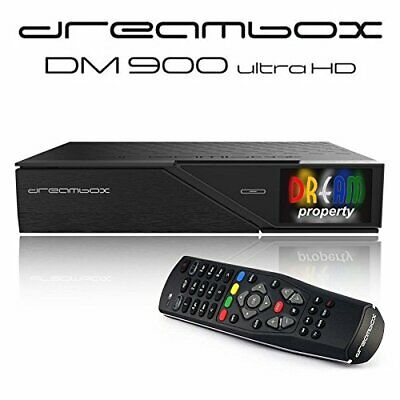 Dreambox DM900 Ultra HD 4K E2 Linux PVR Kabel Receiver TWIN DVB-C/T2 Dual Tuner