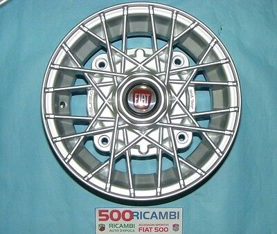 "Set 4 Cerchi in lega per Fiat 500 d/'epoca Abarth da 12"" 4x190 500 OLD 574 SP ECO"