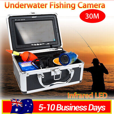 "LOCAL! 30m IR 7"" 1000TVL Fish Finder Underwater Video Camera Fishing Equipment"