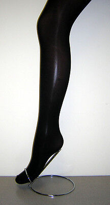 Back To School Girls 2 Pair 40 Denier Opaque Tight with Lycra - Black