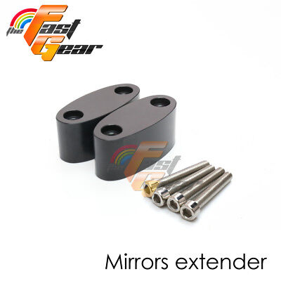 Fit HONDA CBR600 F4/F4i 99-07 For side Mirrors Extenders Riser Adaptor