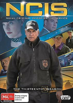NCIS Season 13 (Region 2 UK Compatible) DVD Brand New and Sealed