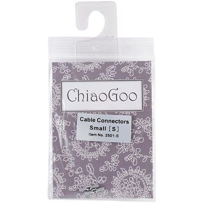 ChiaoGoo Interchangeable Circular Knitting Needle Cable Connectors - Set of 2