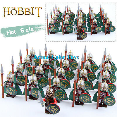 21PCS/Lot The Hobbit series Minifigures The Lord of the Rings rohan Knights&King