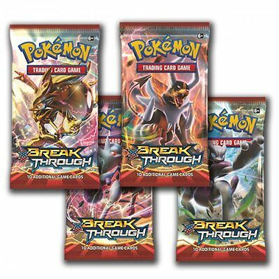 POKEMON XY BREAKTHROUGH * Booster Pack (10 cards)