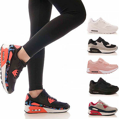 Ladies Kids Trainers P.e Gym Casual Running Jogging Fitness Pumps Shoes Size