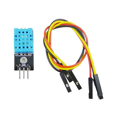 New Temperature and Relative Humidity Sensor DHT11 Module with Cable