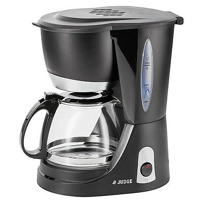 Judge Filter Coffee Machine With Glass Jug 6 Cup / 625ml
