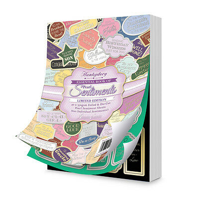 Hunkydory - The Essential Book Of Pearl Sentiments  - Crafts
