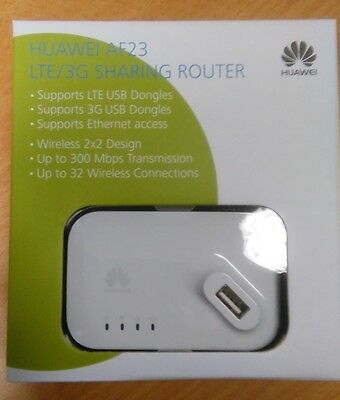 Brand New Huawei AF23 Portable 300M Wifi Wireless Router Mobile