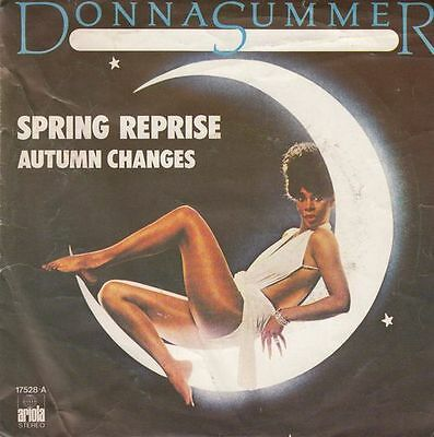 "DONNA SUMMER Spring Reprise ultr@r@re Spanish 7"" single 45 Spain 1976 UNIQUE"