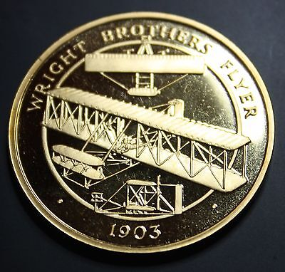 A Century of Flight 'Wright Brothers Flyer' Coin & Presentation Box