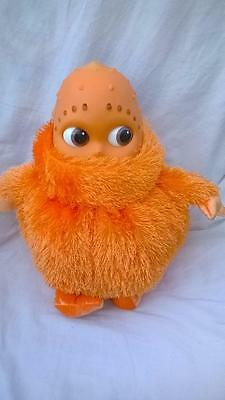 Large Golden Bear Label Orange Boohbah Zing Soft Toy Lights Up/Noise 30cm g6