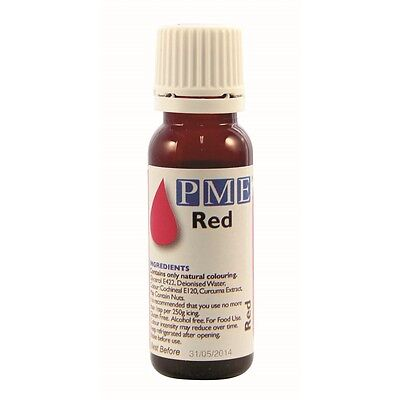 PME Red 'Natural' Food Colouring 25g