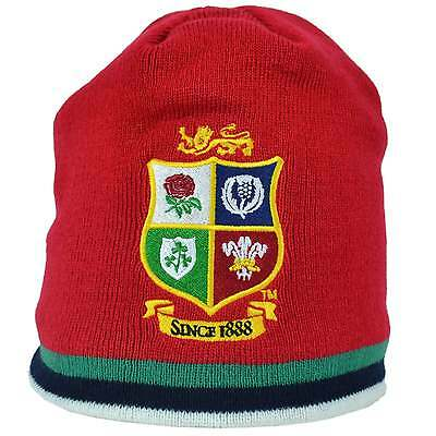 Canterbury British and Irish Lions Acrylic Fleece Beanie - Red