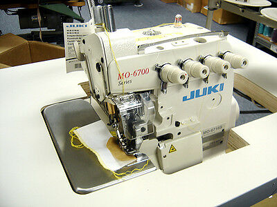 Juki MO-6716S Fully Assembled Five Thread Industrial Serger Machine - NEW